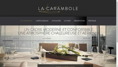 Site internet de Carambole