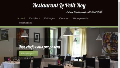 Site internet de Le Petit Roy