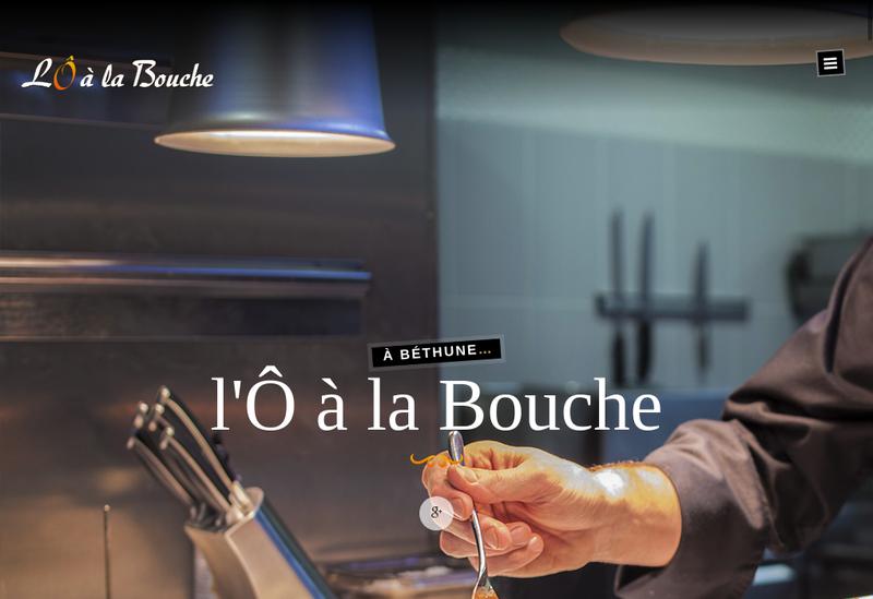 Capture d'écran du site de LOA la Bouche