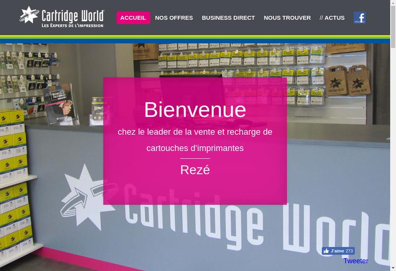 Capture d'écran du site de GFDV