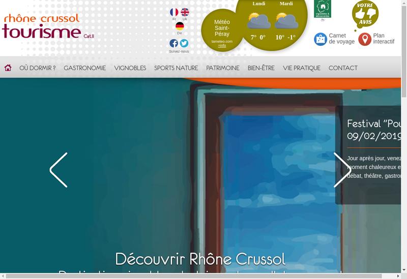 Capture d'écran du site de Le Seven