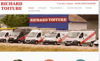 Site internet de Richard Toiture