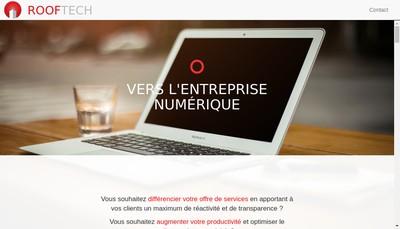 Site internet de Rooftech
