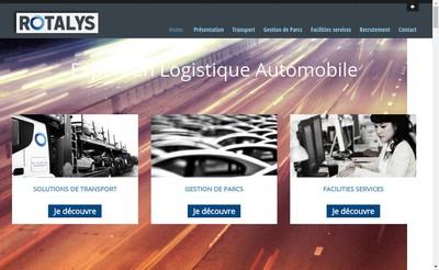 Site internet de Rotalys