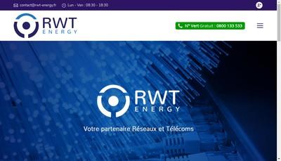 Site internet de Rwt Energy