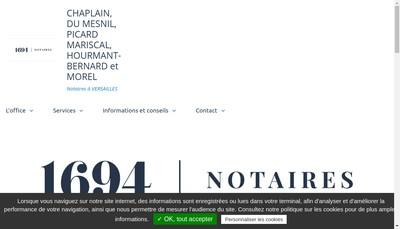 Site internet de B du Mesnil du Buisson, a-M Picard-Mariscal, M Hourmant-Bernard, B Morel, a Chaplain,C du Mesnil du Buisson et E