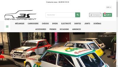 Site internet de 3S Developpement