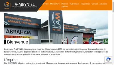 Site internet de Holding Meyniel