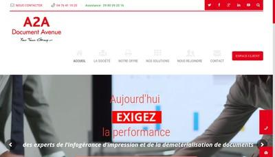 Site internet de A 2 a