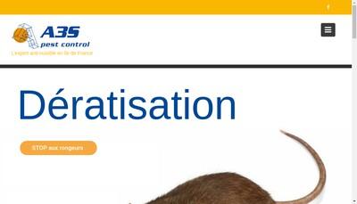 Site internet de A3S Pest Control