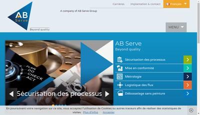 Site internet de Ab Serve