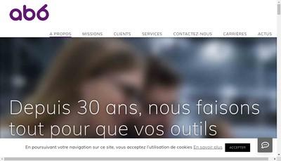 Site internet de Abscisse Informatique