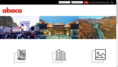 Site internet de SARL Abaca Press