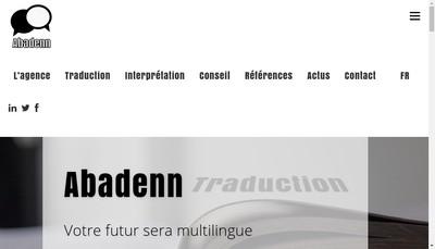 Site internet de Abadenn Multilingue Internationale