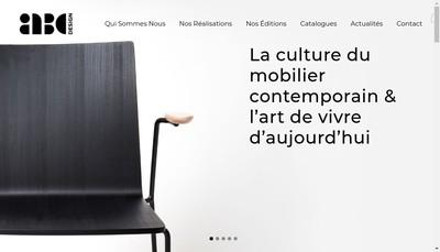 Site internet de Abcdesign