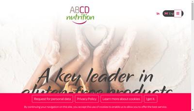Site internet de Abcd Nutrition Groupe