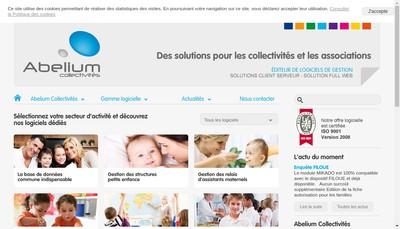 Site internet de Abelium Collectivites
