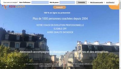 Site internet de Ablecoach