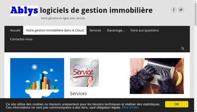 Site internet de Ablys