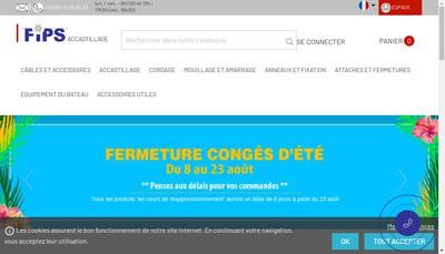Site internet de Fourniture Industrielle Petrucci Santo