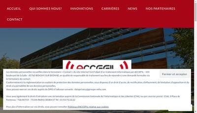 Site internet de Accefil