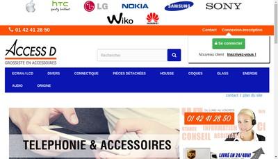 Site internet de Accessd
