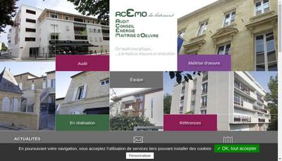 Site internet de Acemo