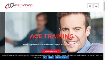Site internet de ACE Training