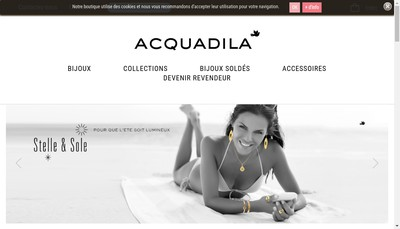 Site internet de Acquadila