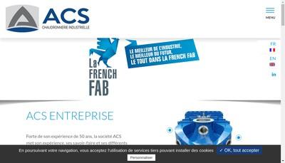 Site internet de Atelier de Chaudronnerie de Sassenage