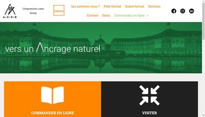 Site internet de Acsd