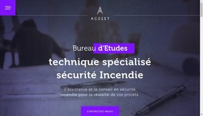 Site internet de Acsist