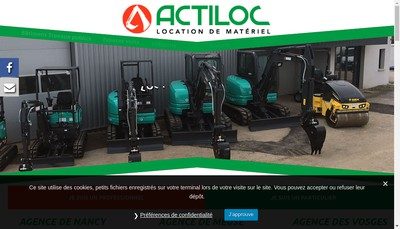Site internet de Actiloc