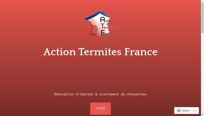 Site internet de Action Termites France