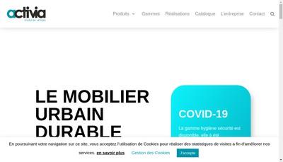 Site internet de Activia