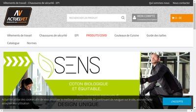 Site internet de Actuel'Vet