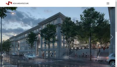 Site internet de Acvv Architecture