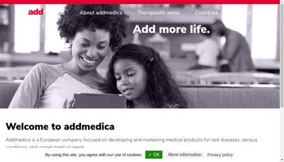 Site internet de Addmedica