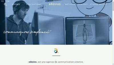 Site internet de Adesias