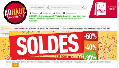 Site internet de Ad'Hauc