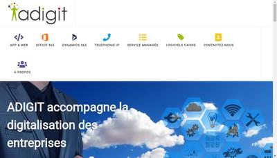 Site internet de Digit