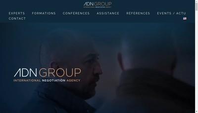 Site internet de Agence des Negociateurs