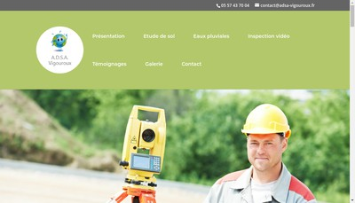 Site internet de Adsa Vigouroux