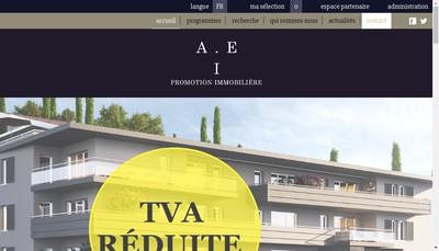 Site internet de Aei Promotion