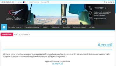 Site internet de Aerofutur