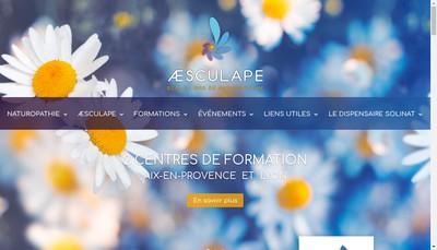 Site internet de Aesculape