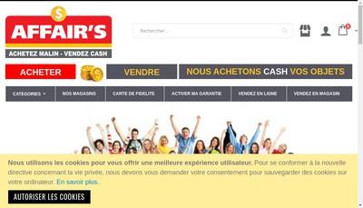 Site internet de Affair'S France