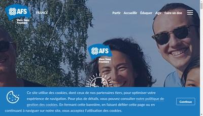 Site internet de Afs