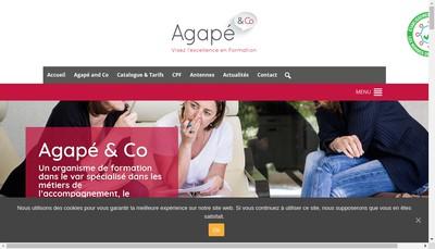Site internet de Agape And Co