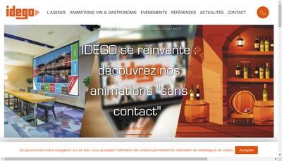 Site internet de Idego